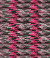 Neon Pink-light pink-grey-black camo paracord