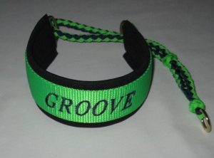 Martingale with name and paracord tail