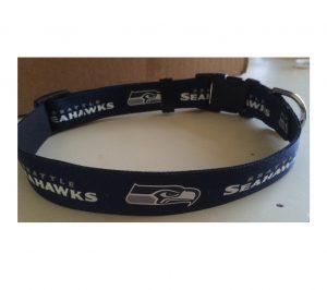 Blue Seahawks Collar