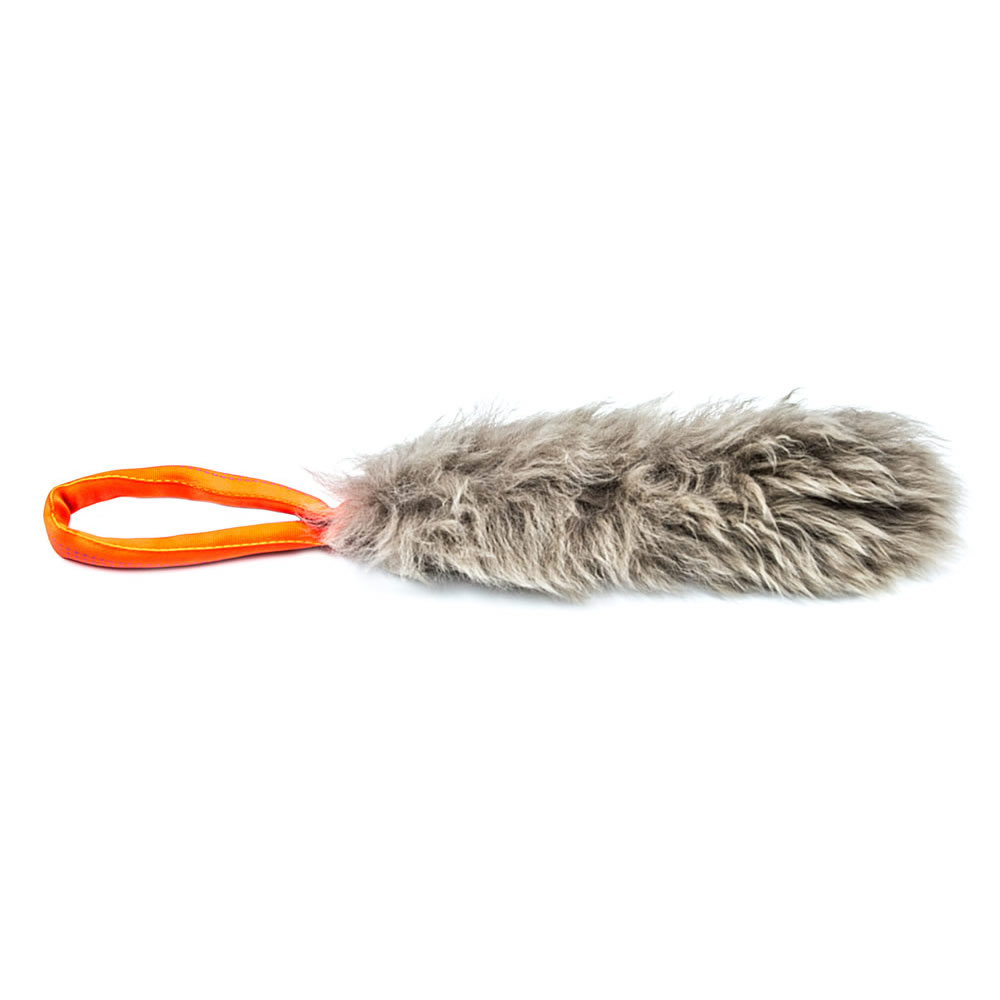 Dog Tug Toy Agility: Fur Tug Toy With Sheepskin