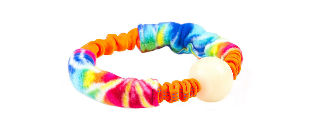 Dog Toys by Dream Dog Designs and other major brands. This is our Bungee Ring with Glow Ball.