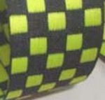 Lime-black checkerboard
