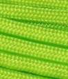 Neon lime green paracord
