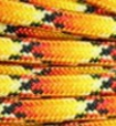 Yellow-Orange-black paracord