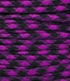 Acid purple-black paracord