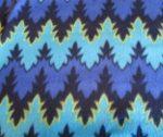 Blue indian fleece