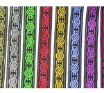 7/16 in Celtic cross- all colors on black jacquard ribbon