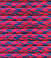 Bright pink-blue paracord