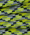 Yellow-grey-black paracord
