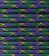Green-purple yellow paracord