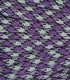 Purple-grey-black paracord