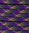 Purple-olive-pink paracord