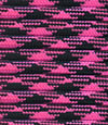 Black-dark pink paracord