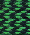 Bright green-black paracord