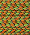 Yellow orange multicolor paracord