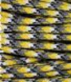 Yellow-grey-white multicolor paracord