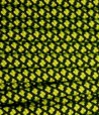 Neon yellow diamonds on black paracord