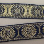Royal Gold X Metallic Reversible jacquard ribbon