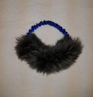 Bungee Half Ring Sheepskin Tug