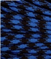 Royal blue and black paracord