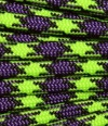 Neon Lime Green and Purple paracord